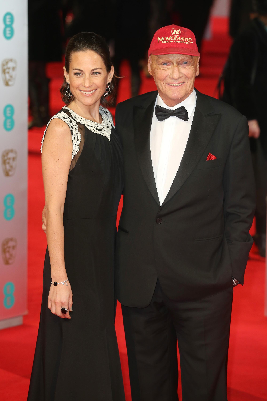 Bild zu Niki Lauda, Ehefrau, Birgit Wetzinger, British Academy Film Award, London, The Royal Opera House