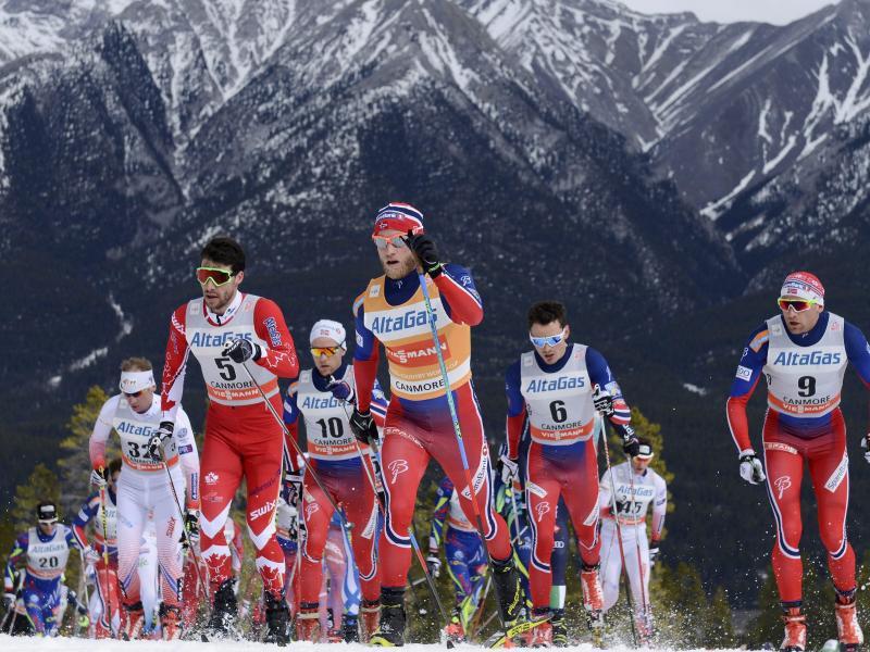 Bild zu Skiathlon