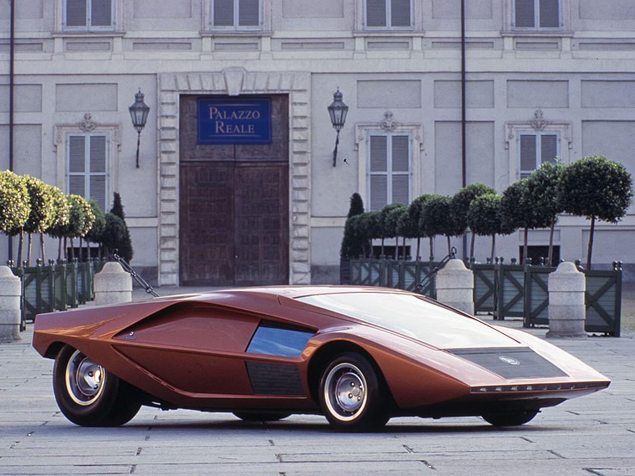 Bild zu Lancia Stratos Zero von 1970