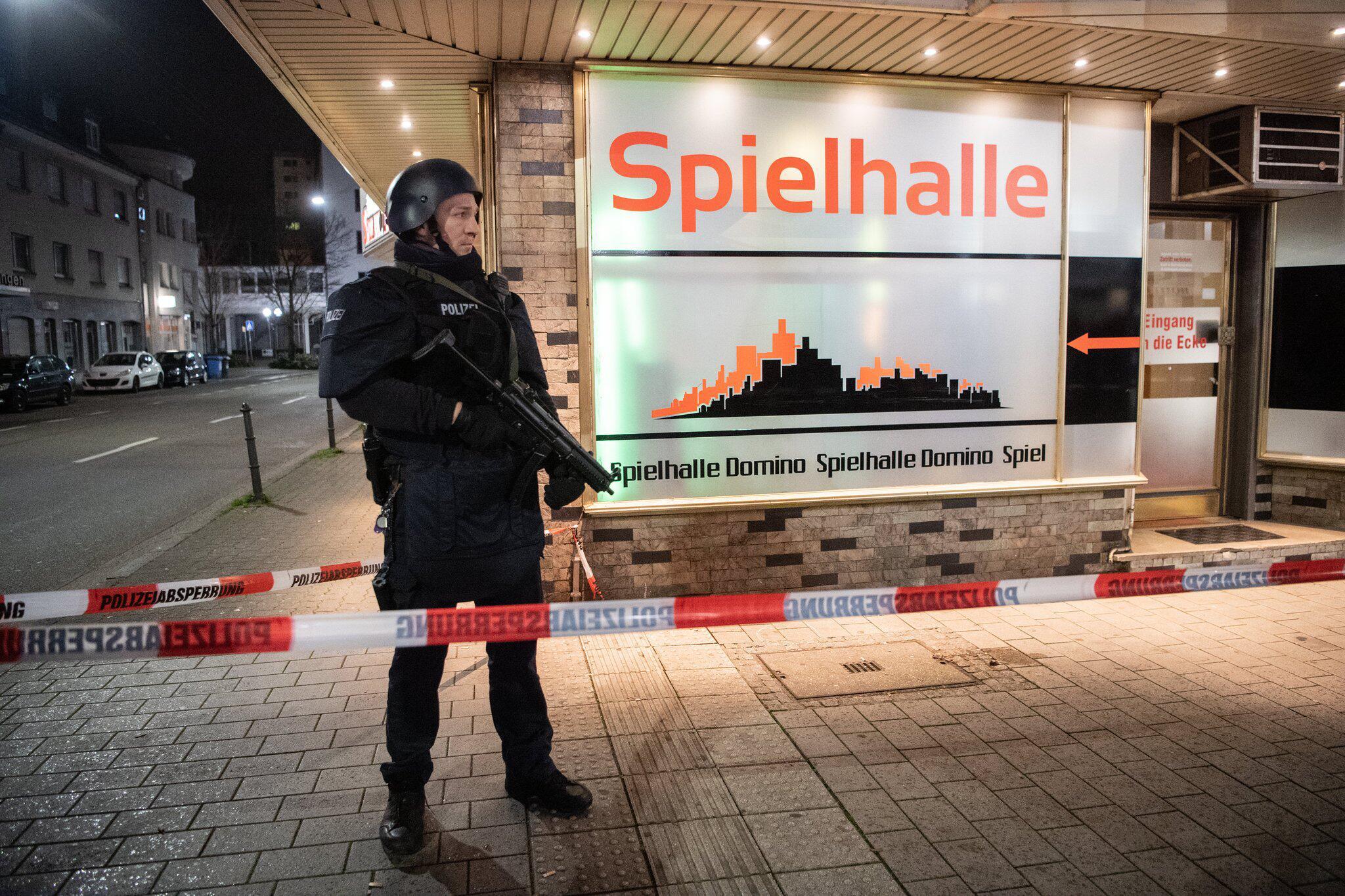 Bild zu Gunfire crime in Hanau