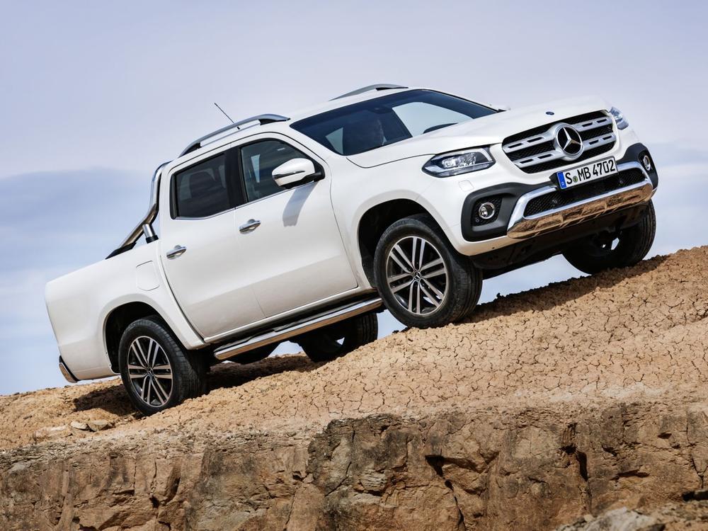 Bild zu Mercedes-Benz X-Klasse