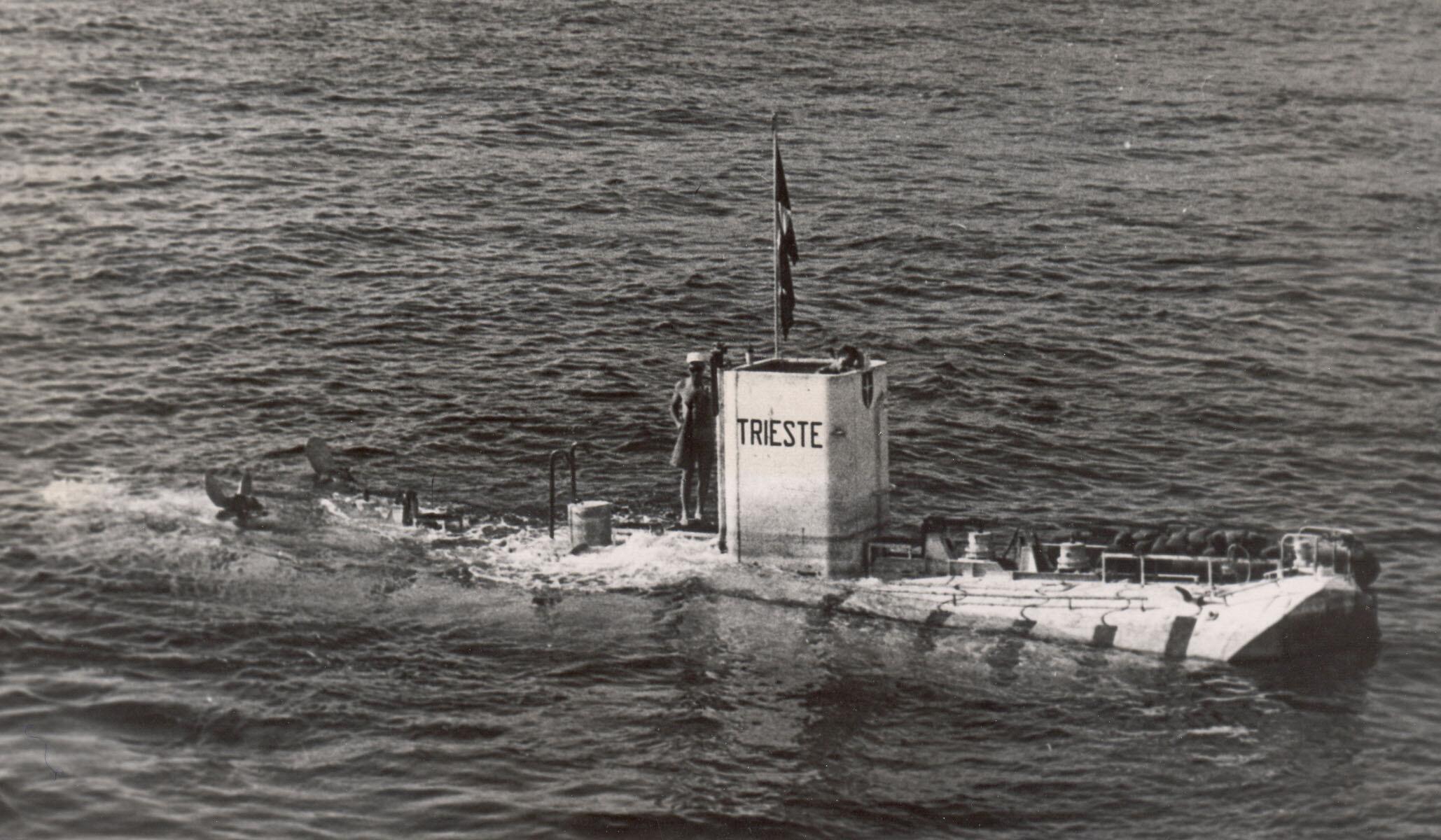 Bild zu Tiefsee-U-Boot ''Trieste''
