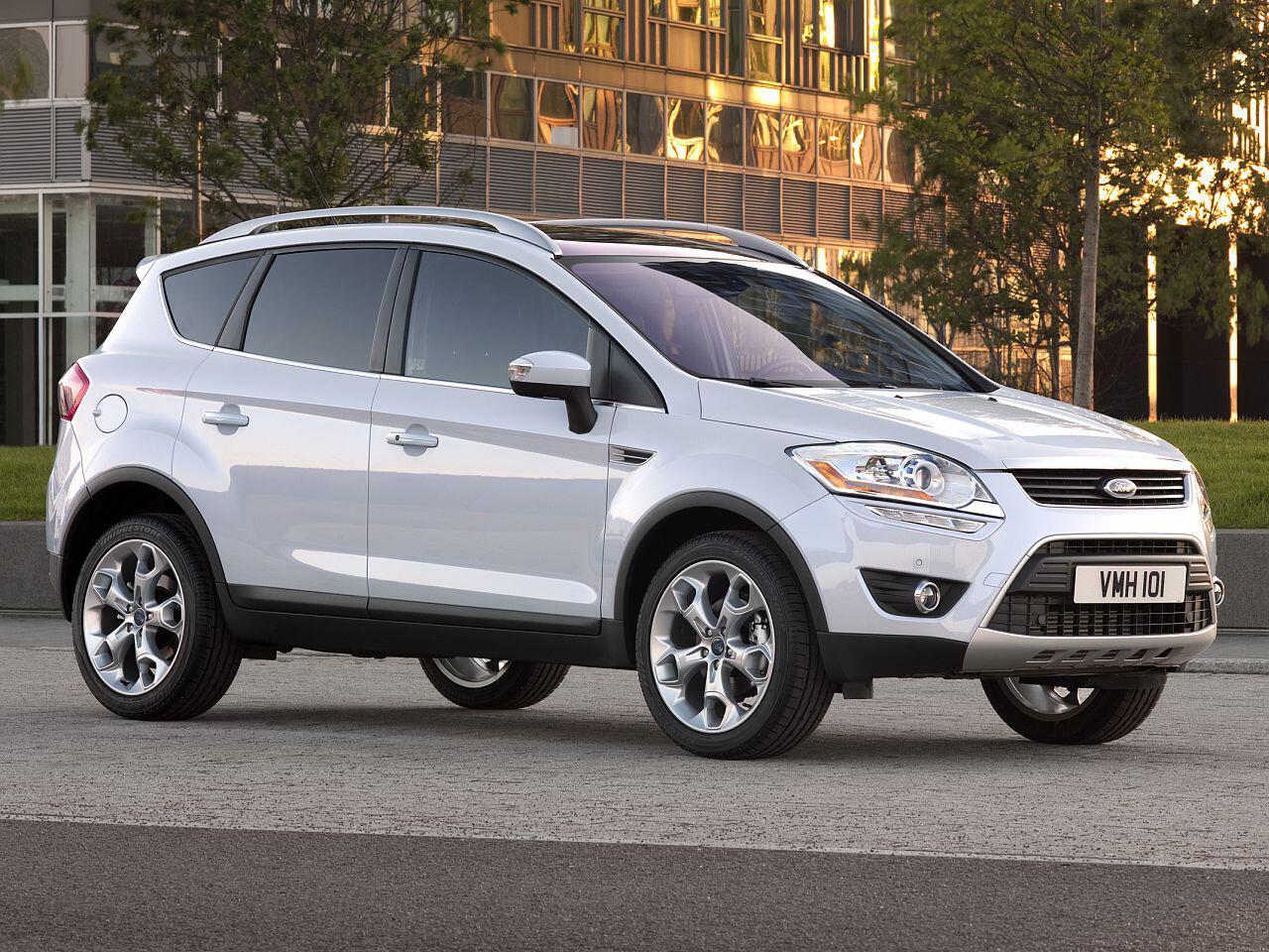 Bild zu 3. Platz: Ford Kuga