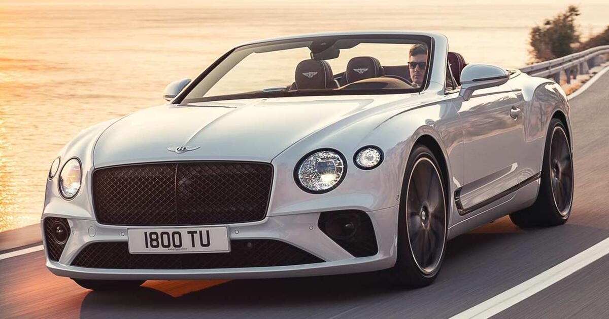 bentley continental gt cabrio so edel wird die neuauflage. Black Bedroom Furniture Sets. Home Design Ideas