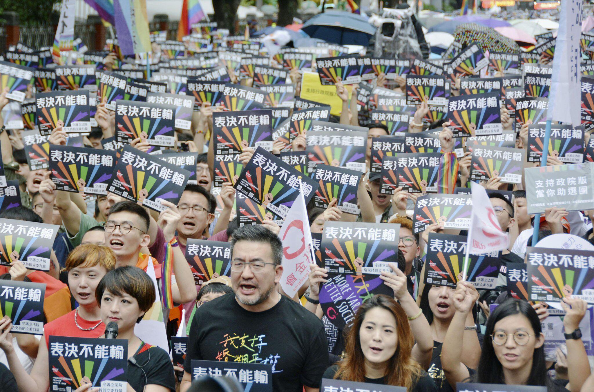 Gleichstellung Homosexueller: Taiwan führt gleichgeschlechtliche Ehe ein