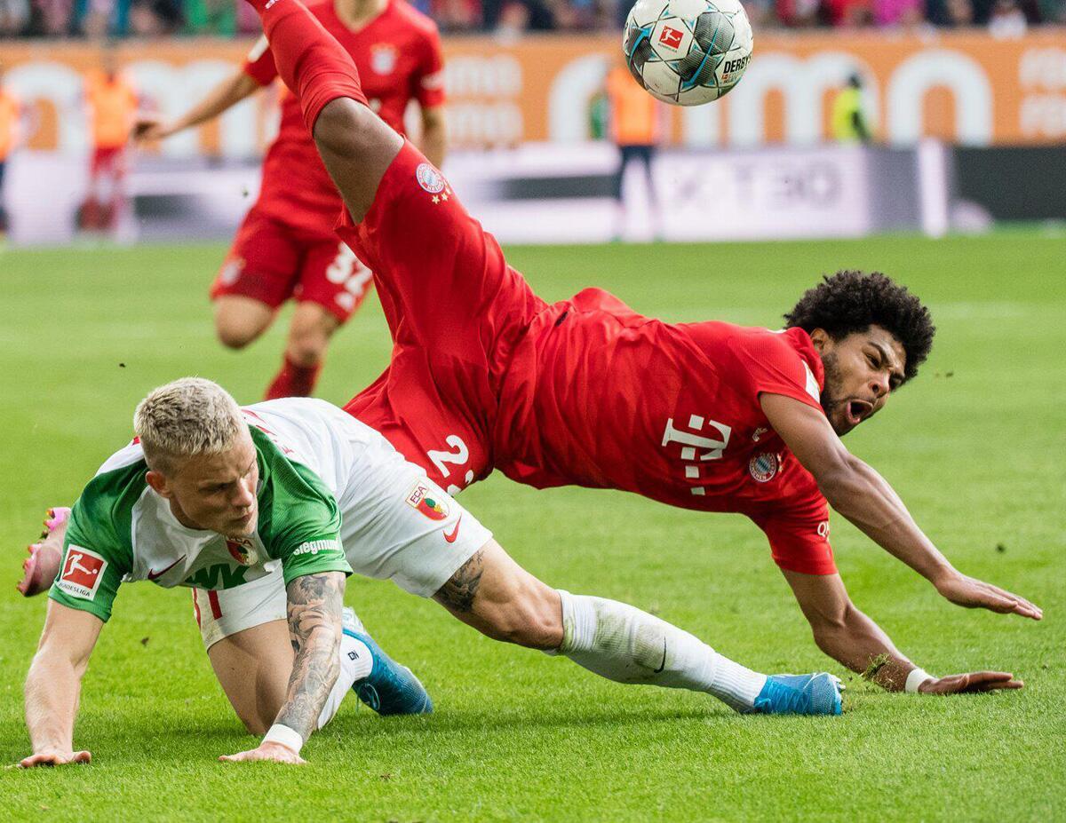 Bild zu FC Augsburg, Bayern München