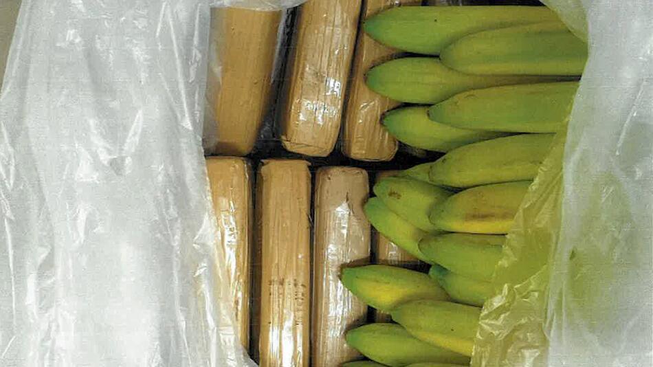Zollfahndung stellt 100 kg Kokain in Bananenlieferung sicher