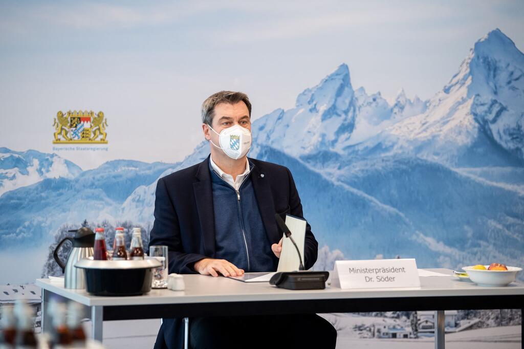 Sondersitzung vom Kabinett in München