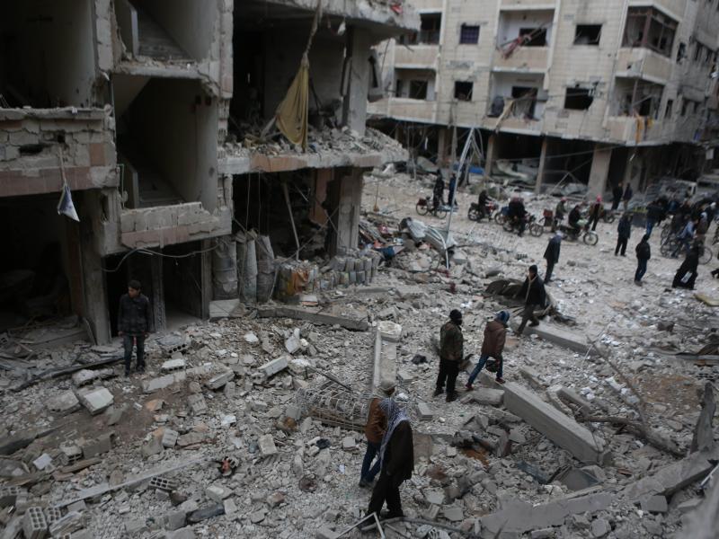 Bild zu Luftangriffe auf Ost-Ghuta