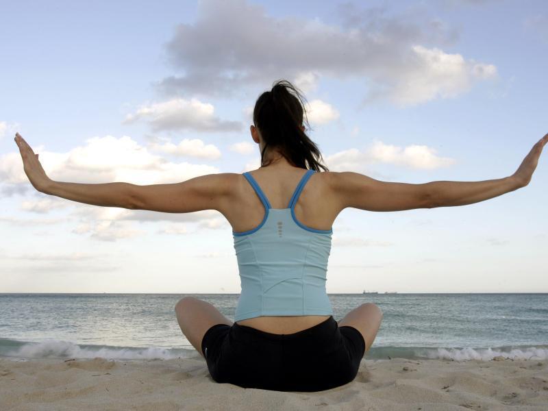 Bild zu Meditation am Strand