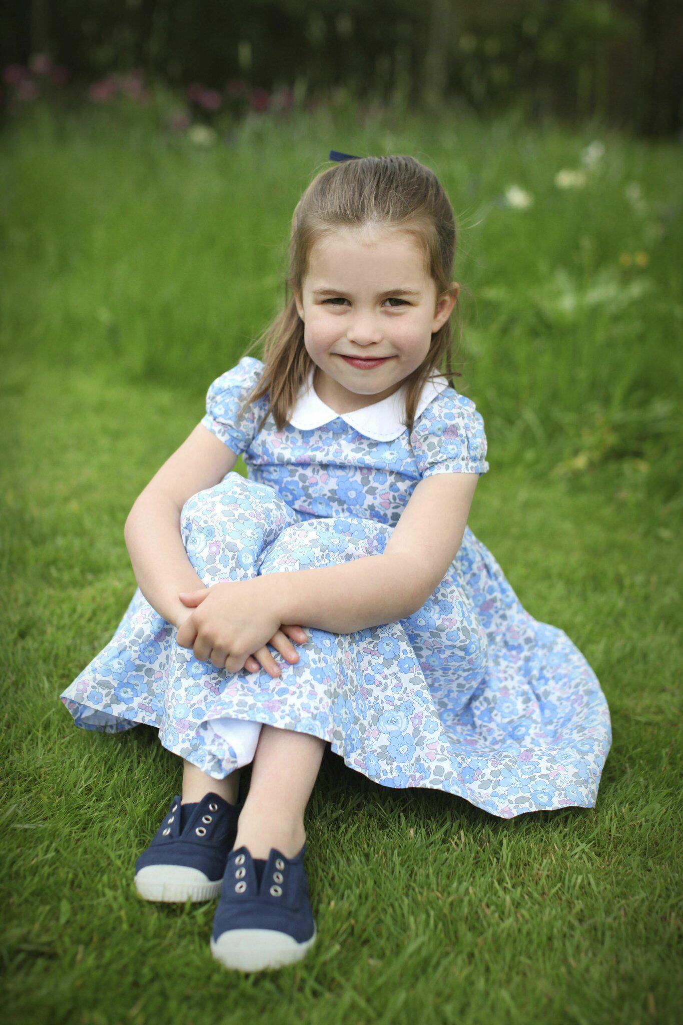 Bild zu Prinzessin Charlotte wird 4 Jahre alt