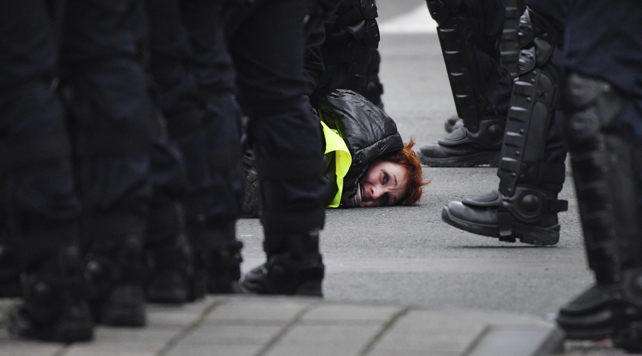 Bild zu Proteste in Belgien