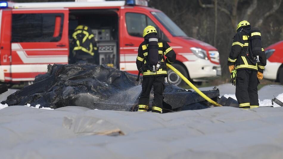Kleinflugzeug in Südhessen abgestürzt