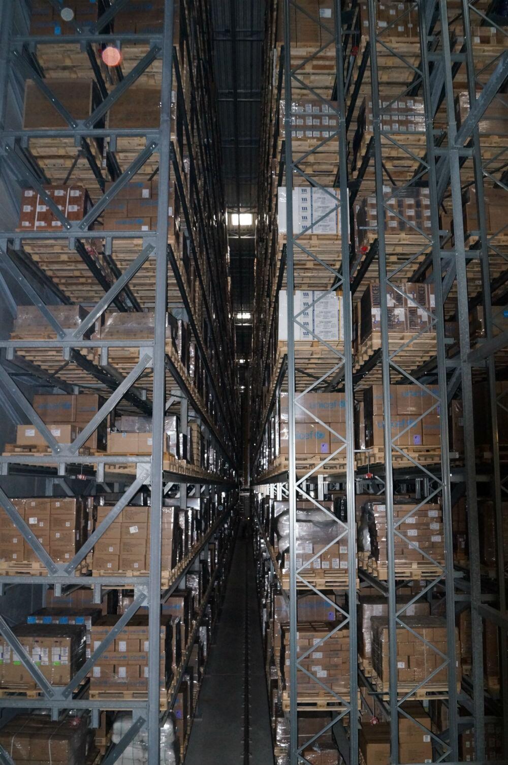 Bild zu UNICEF-Warenlager