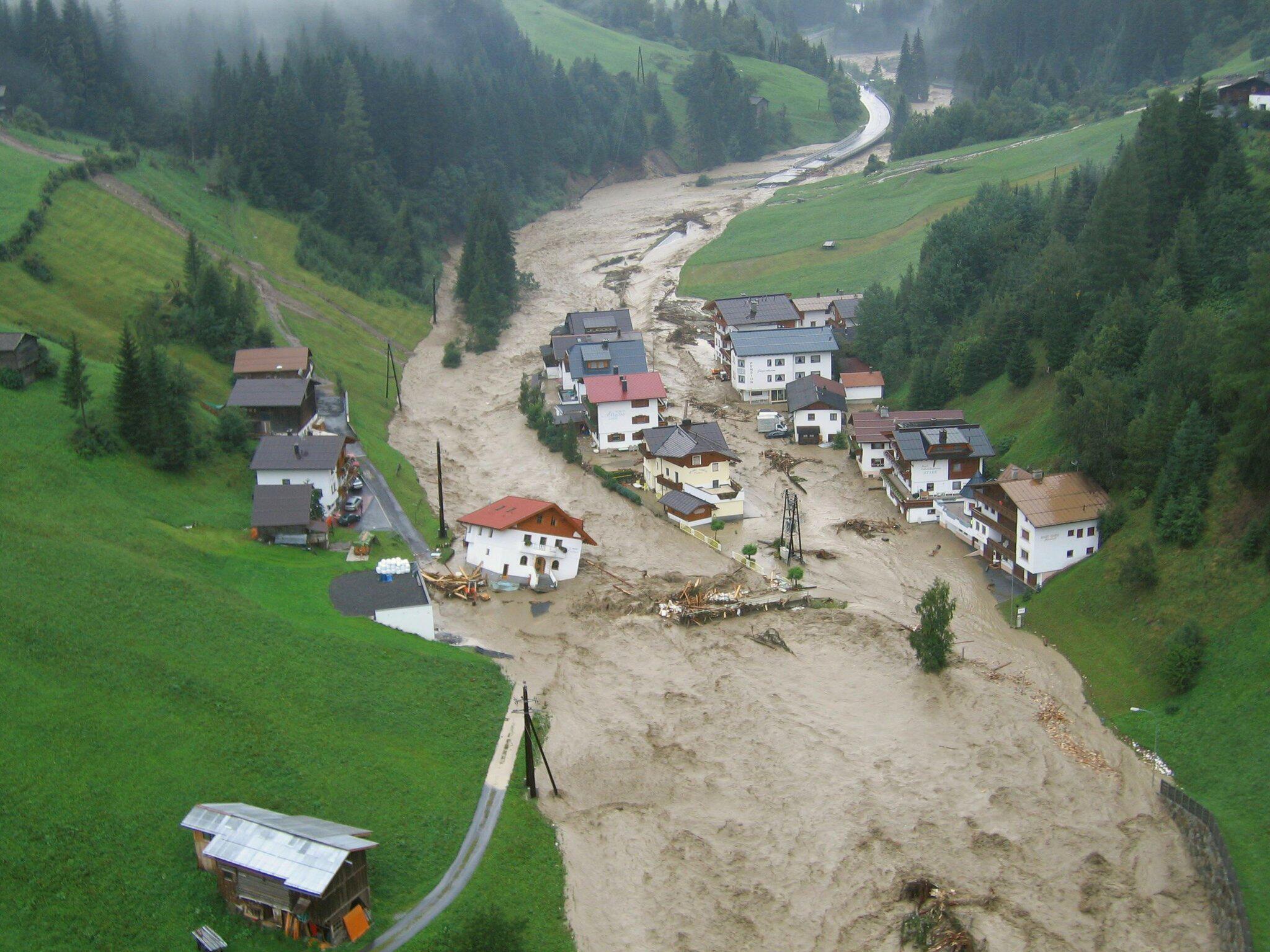 Bild zu Klimawandel verändert Hochwasser der Flüsse