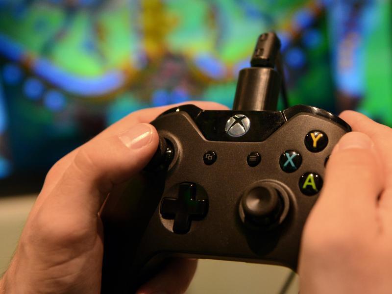 Bild zu Controller der Xbox One