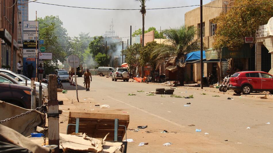 Anschlag in Burkina Faso