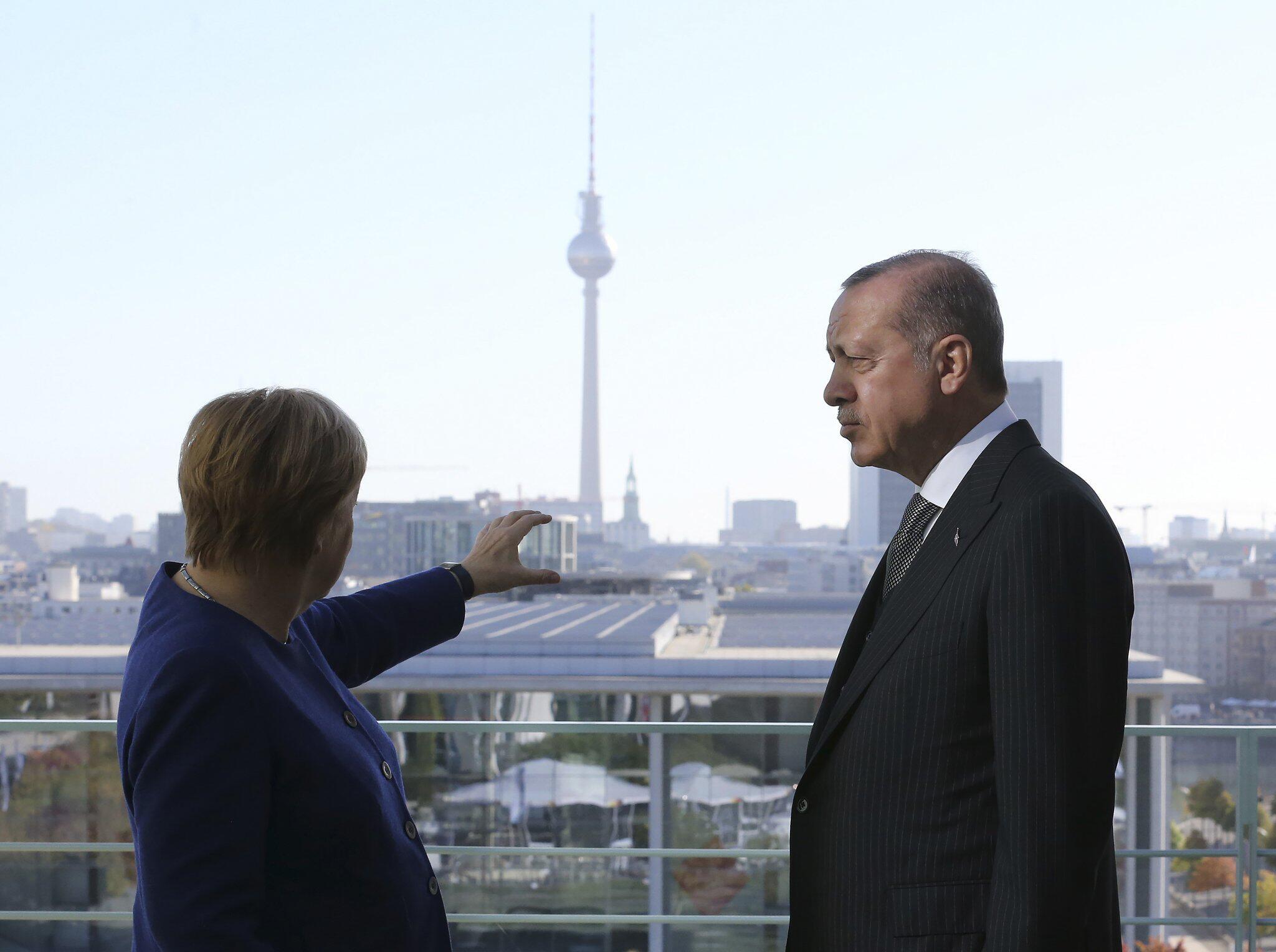 Bild zu Türkischer Präsident in Deutschland - Kanzleramt