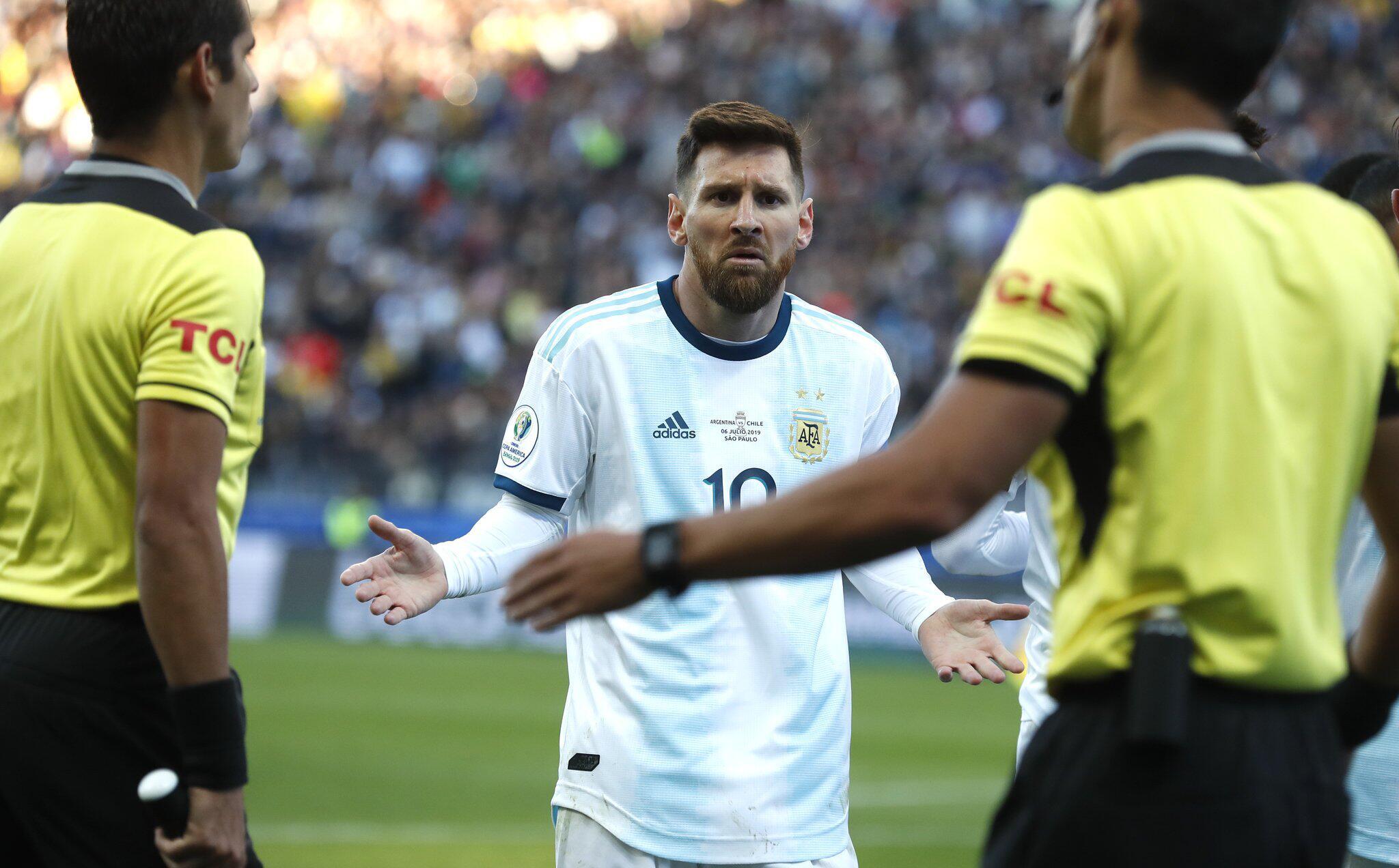 Bild zu Copa America - Argentinien - Chile, Lionel Messi