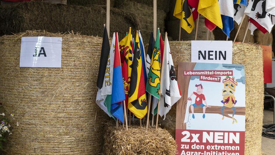 Abstimmung über Umweltschutzinitiativen in der Schweiz