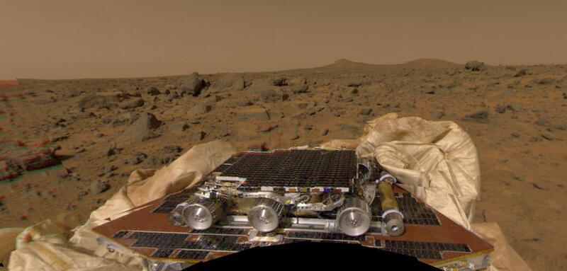 Bild zu Mars Pathfinder