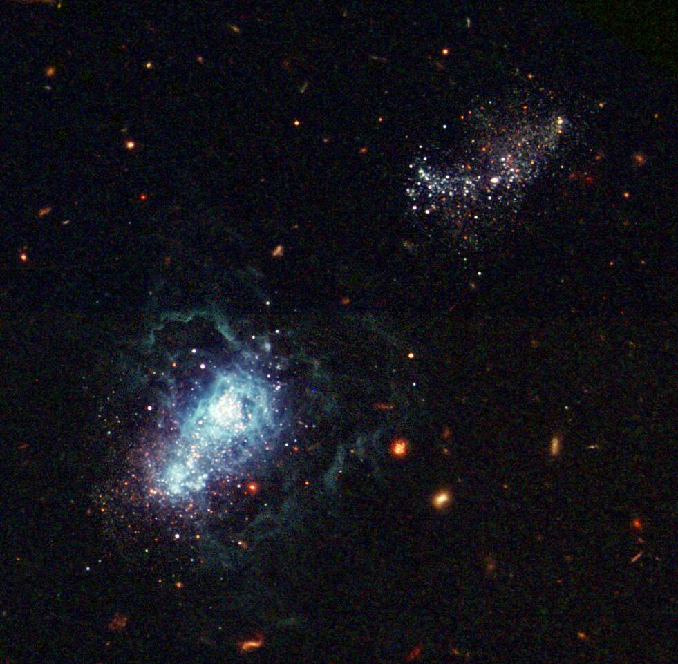 Bild zu Jüngste Galaxie I Zwicky 18