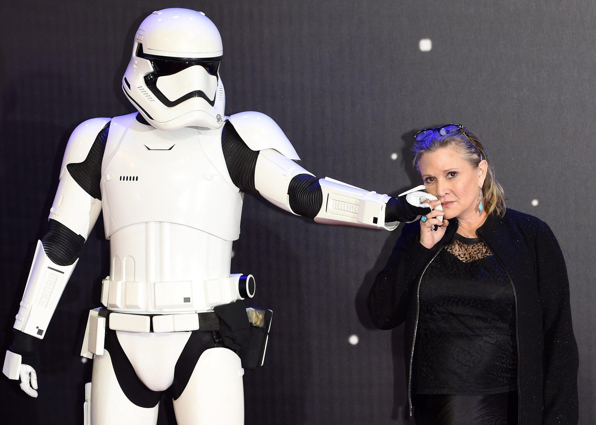 Bild zu Carrie Fisher turns 60