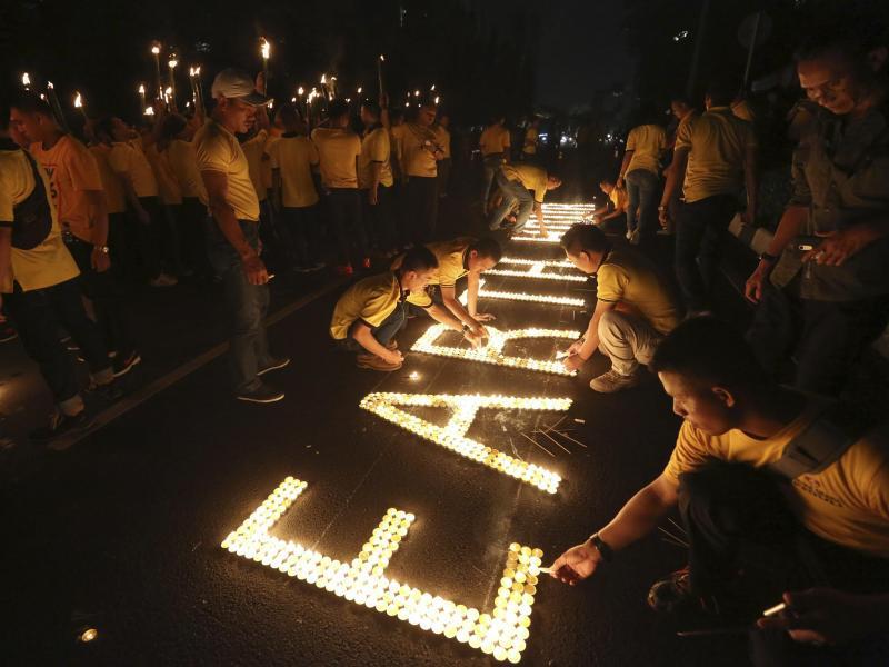 Bild zu «Earth Hour» in Indonesien