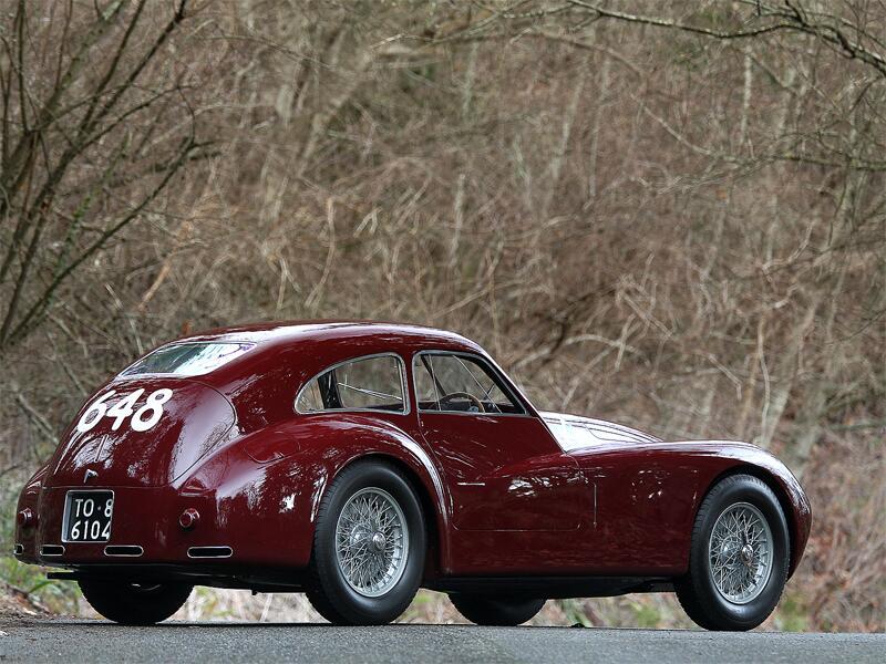 Bild zu Alfa Romeo 6C Competizione (1948)
