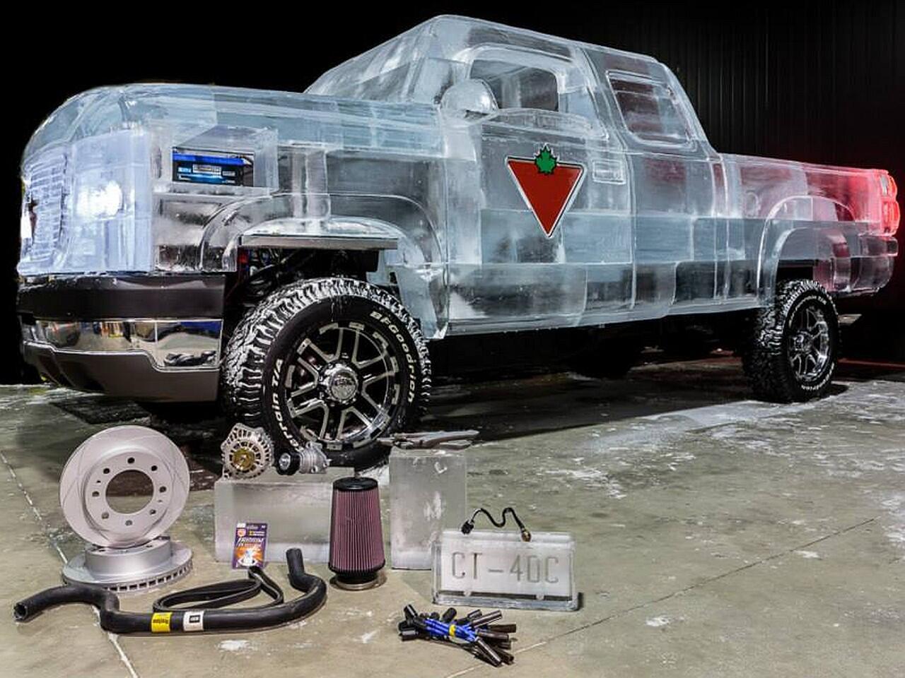 """Bild zu Verrückte Werbeidee: Der Canadian Tire """"Ice Truck"""""""