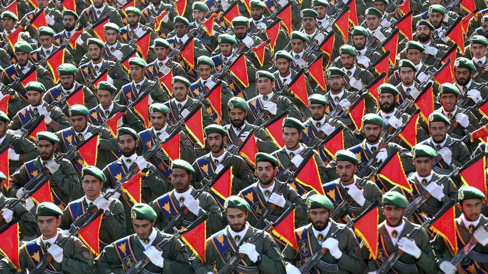 Revolutionsgarden im Iran
