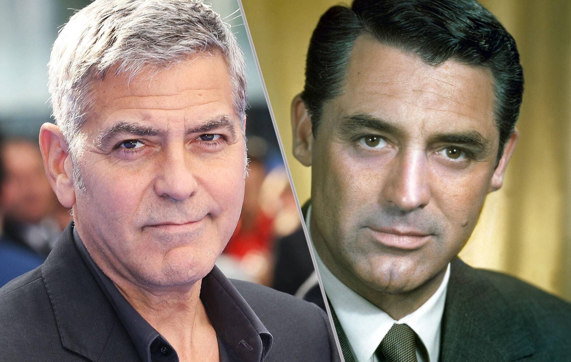 Bild zu George Clooney und Cary Grant