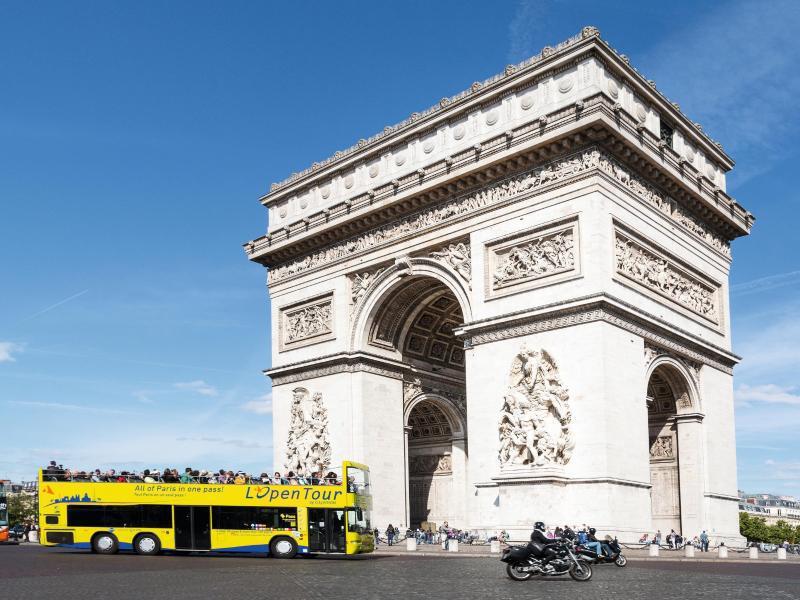 Bild zu Arc de Triomphe