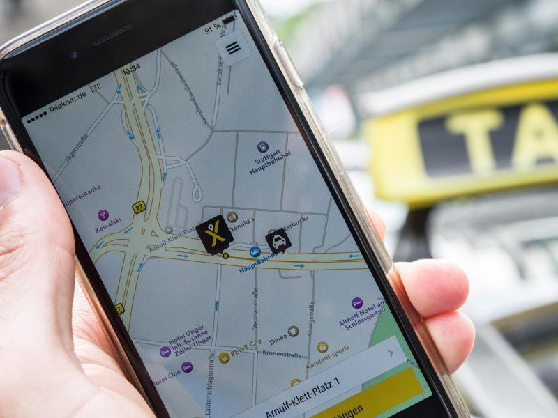 Bild zu MyTaxi-App