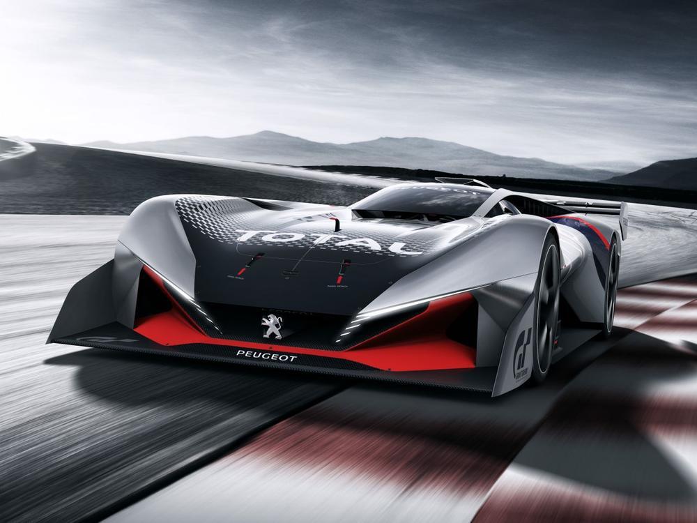 Bild zu Peugeot L750 R Hybrid Vision Gran Turismo: Rennversion für den Extrem-Peugeot