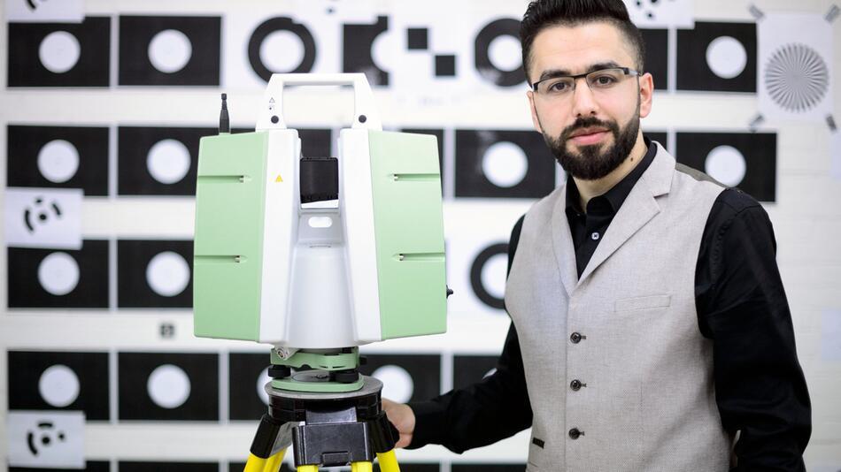 Samer Karam will Palmyra scannen