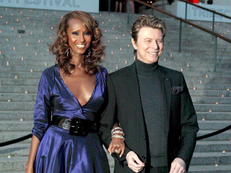 Bild zu David Bowie und Iman