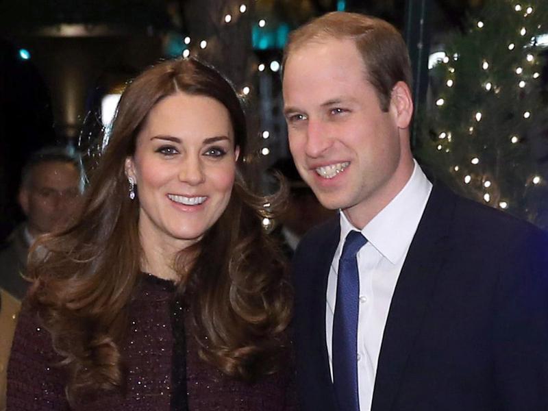 Bild zu Prinz William + Herzogin Kate