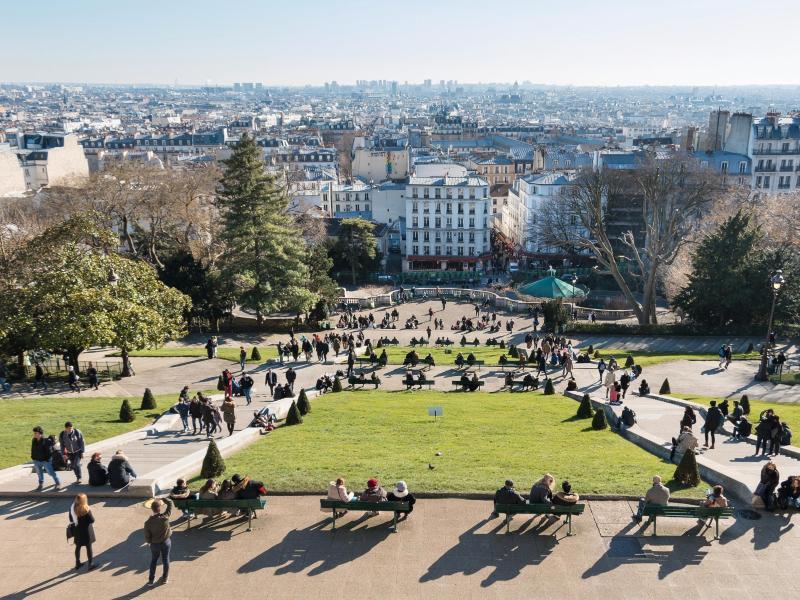 Bild zu Blick auf die Stadt