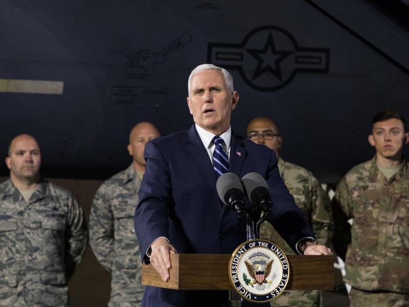 Bild zu Nahostreise von US-Vizepräsident Pence