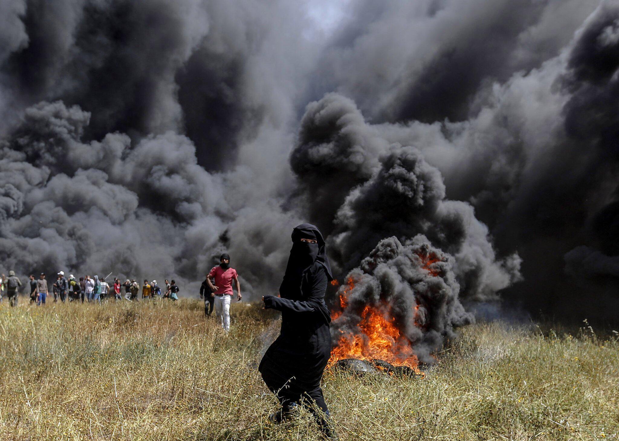 Bild zu Protests in the Gaza Strip on the Israeli border