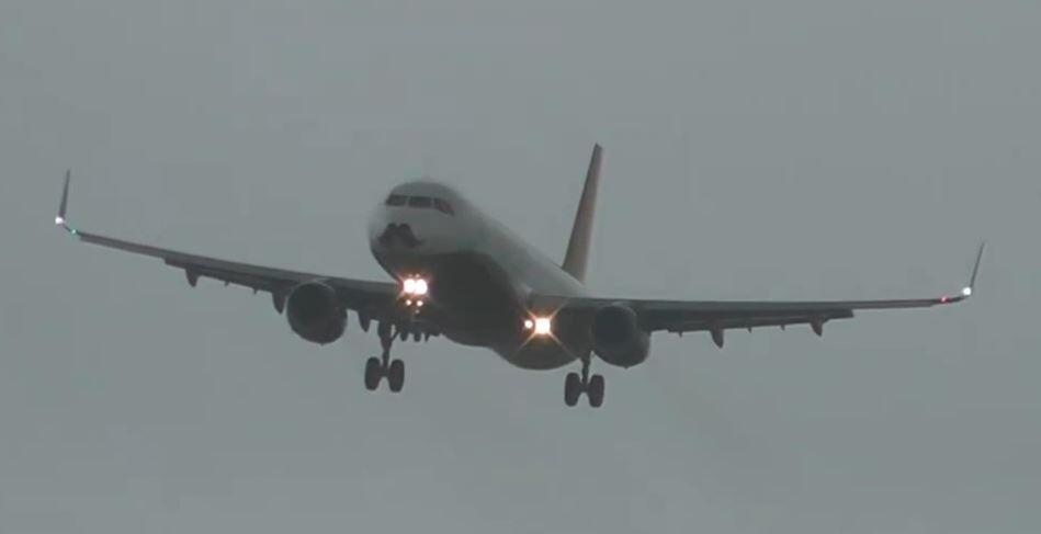 Bild zu Airbus windiger Anflug