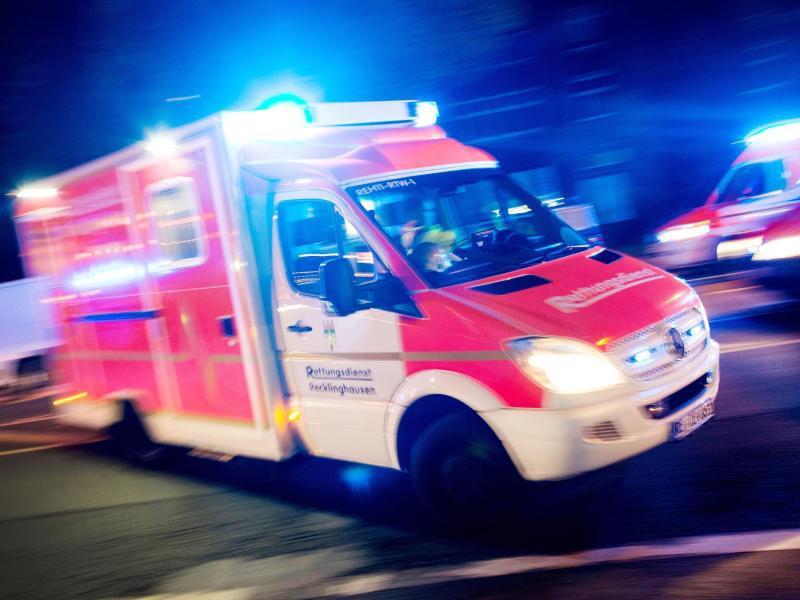 Bild zu Rettungswagen-Einsatz