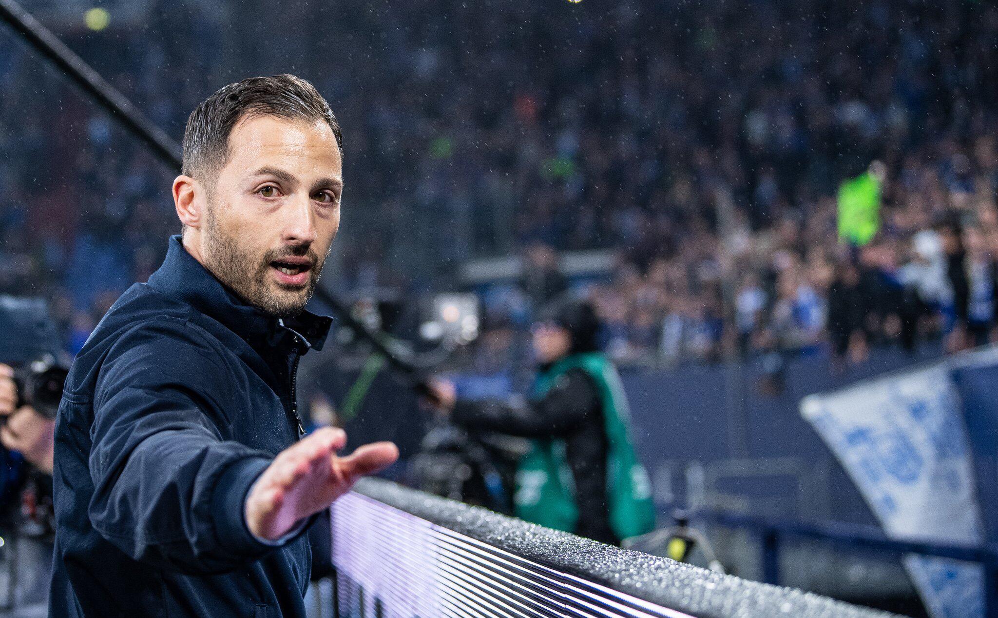 Bild zu Domenico Tedesco, FC Schalke 04, Fortuna Düsseldorf, Bundesliga, Fans