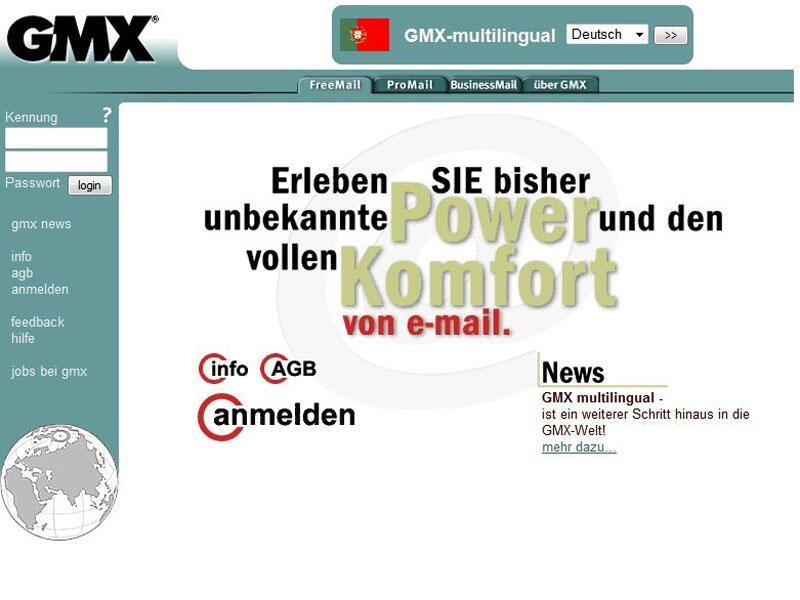 Bild zu GMX