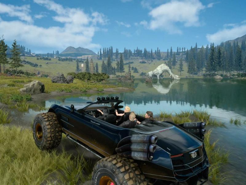 Bild zu «Final Fantasy XV»