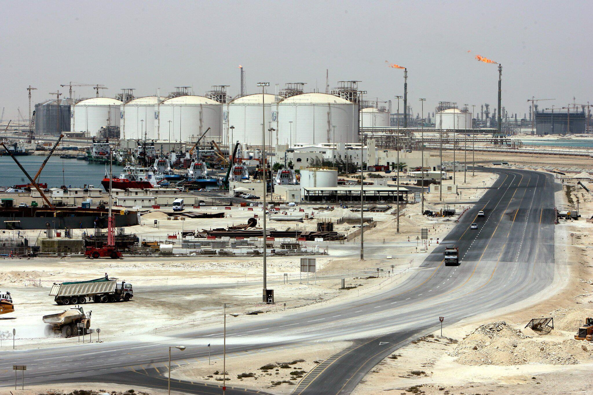 Bild zu Gasanlagen von Ras Laffan