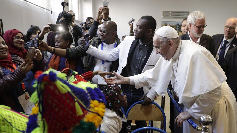 Papst Franziskus besucht Marokko