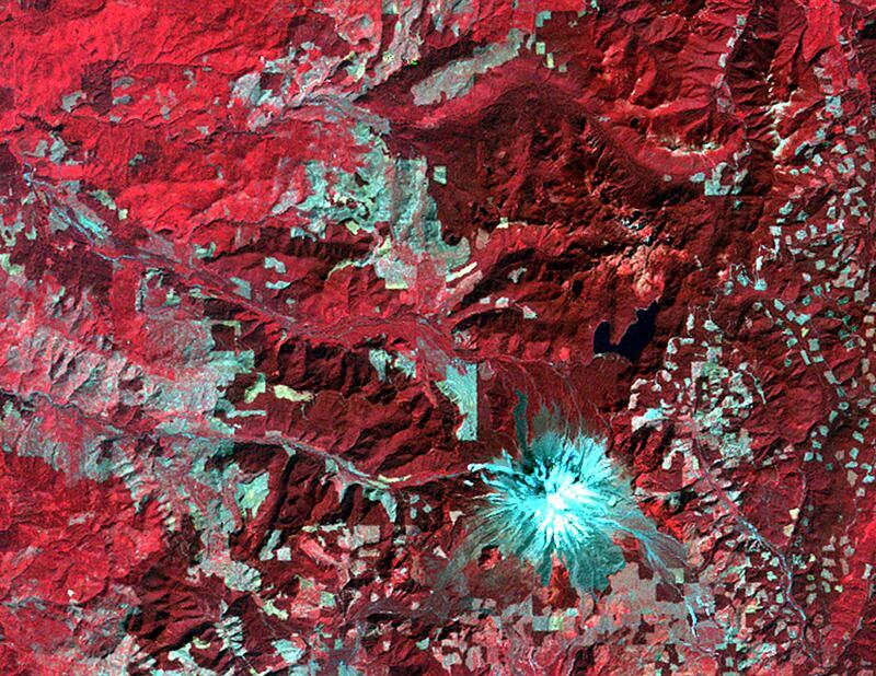 Bild zu Mount St. Helens 1973