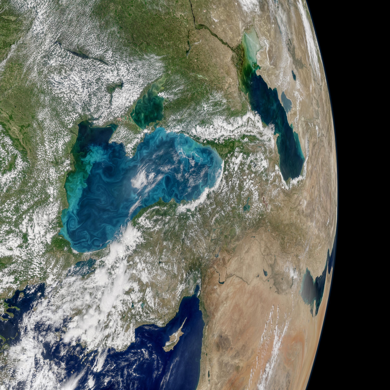 Bild zu Schwarzes Meer aus dem All